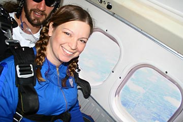 Deanna Skydiving 1